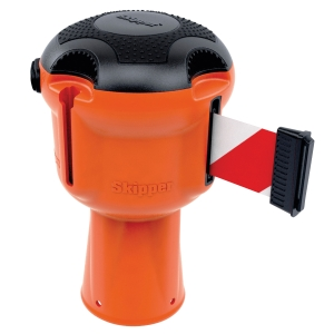 Skipper rajausnauha oranssi puna/valkoinen
