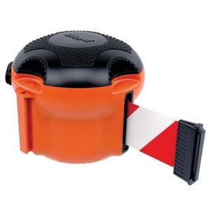 Skipper rajausnauha oranssi xs puna/valkoinen