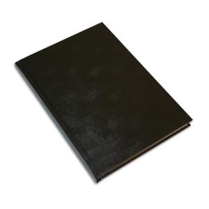 Muistikirja Miradur A5/96 viivoitettu, musta