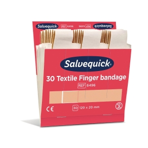 Salvequick pitkä kangaslaastari, myyntierä 1 kpl = 6x30 laastaria