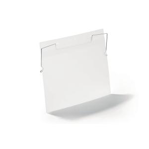 Lavahyllytasku metallikoukulla A4 vaaka, myyntierä 1 kpl = 50 taskua