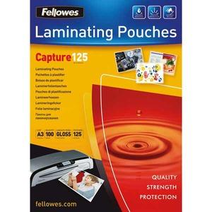 Fellowes laminointitasku A3 2x125mic kirkas, myyntierä 1 kpl = 100 taskua