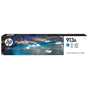 HP 913A L6T77AE Mustesuihkupatruuna cyan