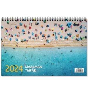 CC 5580 Maailman ympäri seinäkalenteri 2020 300 x 400 mm