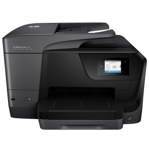 HP Officejet Pro 8710E mustesuihku monitoimitulostin