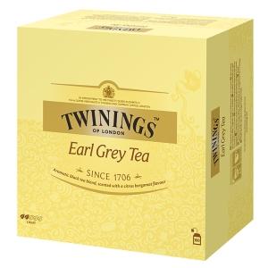 Twinings Earl Grey tee, myyntierä 1 kpl = 100 pussia