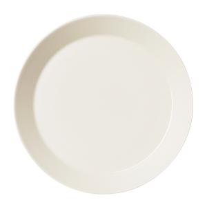 Teema matala lautanen 26cm valkoinen, 1 kpl = 6 lautasta