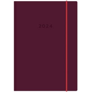 Ajasto Color pöytäkalenteri A6, lila
