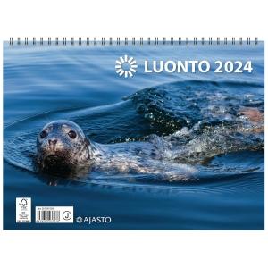 Ajasto Luonto seinäkalenteri 2020 290 x 420 mm