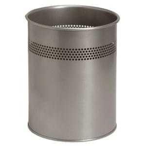 Twinco roska-astia metallinen 14,7 l, hopea