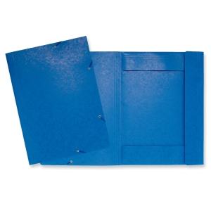 Exacompta kulmalukkokansio A3, sininen, myyntierä 1 kpl = 5 kansiota