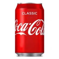 Pack de 24 latas de COCA-COLA de 33 cl