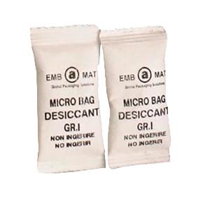 Caixa de 5000 sacos de dessecante de umidade de microbag 17x40 mm 1gr
