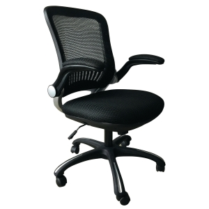 Cadeira de mecanismo sincronizado ARCHIVO 2000 6490 con malha cor preto