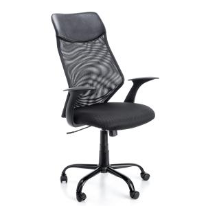 Cadeira de mecanismo sincronizado ARCHIVO 2000 6492 con malha cor preto