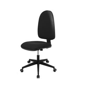 Cadeira de contato permanente LYRECO cor preto