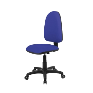 Cadeira de contato permanente LYRECO cor azul