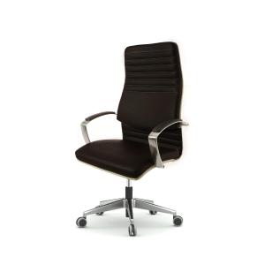 Cadeira de direçao BD8000 con mecanismo sincronizado preto