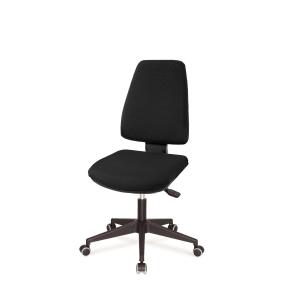 Cadeira de mecanismo basculante LYRECO BUDGET SDN10 cor preto