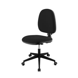 Cadeira de contato permanente LYRECO BUDGET cor preto