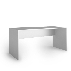 Mesa Lyreco com medidas 160x70x74,5cm cor branco