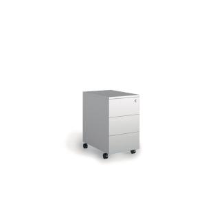 Buck Lyreco 3 gavetas com medidas 32x45x55cm branco