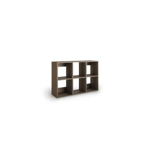 Livraria Lyreco 6 caixas com medidas 86x40x128 carvalhho