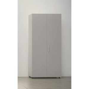 Armario com porta, medidas 195x45x90 cm nogueira