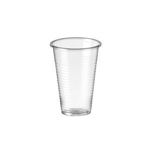 Pacote de 100 copos de polipropileno transparente  220ml