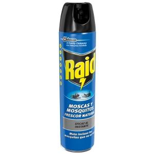 Pulverizador insecticida RAID 600ml