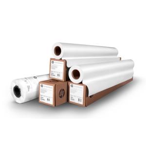 Folha de plotadora de papel branco alta 610mm x 50m. Formato 24 NAVIGATOR 90gr
