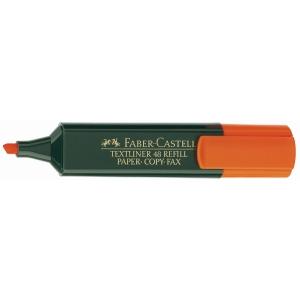 Marcador fluorescente FABER CASTELL 1-5 mm laranja