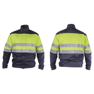 Blusão de alta visibilidade 3L Welder amarelo/azul XL