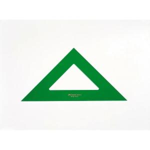 Esquadro de PVC verde de 45º FABER CASTELL