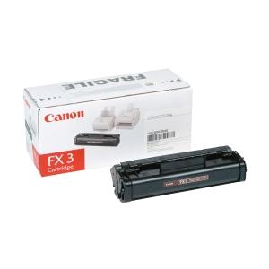 Toner laser CANON preto FX3 para fax L200/250/280/300/350 e Multipass L60/90