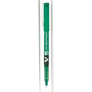 Roller de tinta liquida PILOT Hi-Tecpoint V5, cor verde