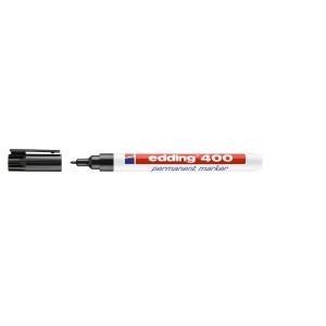 Marcador permanente EDDING 400 cor preta