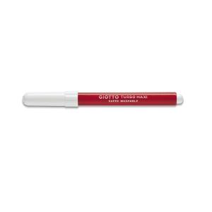 Pack de 12 marcadores GIOTTO Turbo maxi cor vermelha