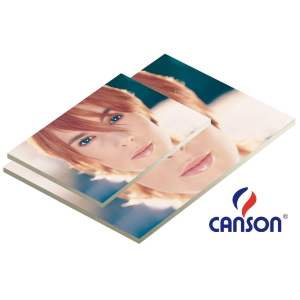 Pacote de 25 placas de cartão pluma branco de 5 mm. 700 x 1000 mm