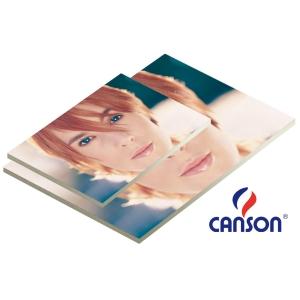 Pacote de 25 placas de cartão pluma branco de 5 mm. 500x700 mm