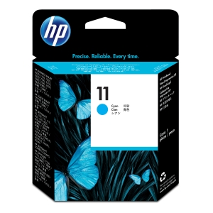 Cabeça de tinta HP 11 ciano C4811A para Business Inkjet 1000/2200/2300