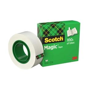 Fita adesiva Scotch magic invisível Dimensões: 12 mm x 33 m