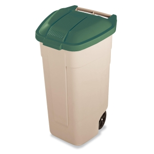 Tampa verde para contentor de residuos RUBBERMAID