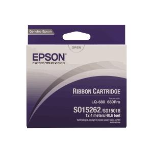 Fita matricial EPSON nylon preto S015262 para LQ-670/680/1060/1060 e DLQ-2000