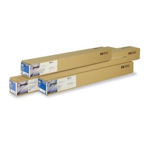 Rolo papel universal revestido 80 g/m2, 24 HP. Largo: 610 mm x 45,7 m