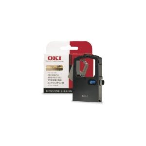 Fita matricial OKI nylon preto 09002303 para ML-182/192/320/3320/3321