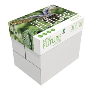 Caixa de 10 pacotes de 500 folhas papel FUTURE Multitech A5 de 80g branco
