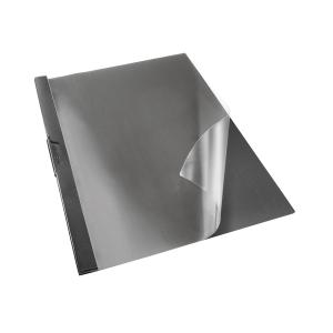 Dossier com pinça metalica em cor negro
