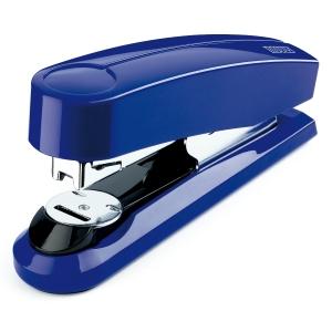 Agrafador de secretaria NOVUS B4FC 50 folhas cor azul