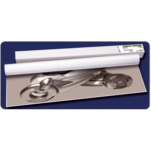 Pack de 4 rolos de plotter tinta de 90g/m2 SPRINJET Plus. Largo: 610 mm x 45 m